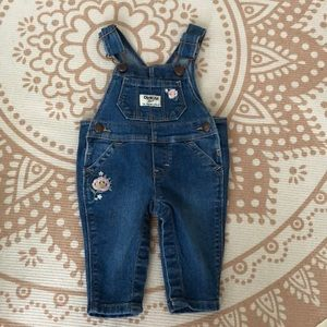 Babygirl denim overalls